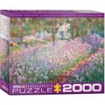 Puzzle  Eurographics-8220-4908 Claude Monet - Le Jardin de Monet