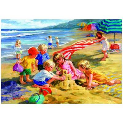 Puzzle Eurographics-8300-0449 Hartley - Amusement au soleil