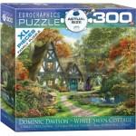 Eurographics-8300-0977 Pièces XXL - Familiy Puzzle: Dominic Davison - White Swan Cottage
