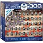 Puzzle  Eurographics-8300-1432 Pièces XXL - Présidents des Etats-Unis