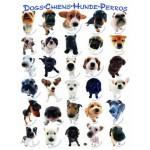 Puzzle  Eurographics-8300-1510 Race de de chiens
