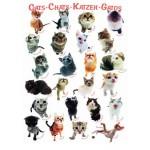 Puzzle  Eurographics-8300-1511 Race de chats