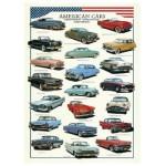 Puzzle  Eurographics-8300-3870 Voitures américaines des années cinquante