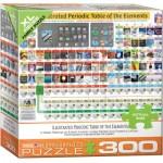 Puzzle  Eurographics-8300-5370 Pièces XXL - Tableau Périodique des Eléments Illustré