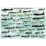 Puzzle  Eurographics-8500-0075 Avions de la 2ème guerre mondiale