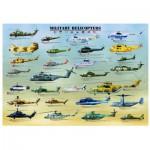 Puzzle  Eurographics-8500-0088 Hélicoptères Militaires