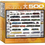 Puzzle  Eurographics-8500-0251 Histoire des Trains
