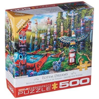 Puzzle Eurographics-8500-5361 Pièces XXL - Totem Dreams
