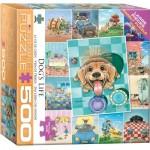 Puzzle  Eurographics-8500-5365 Pièces XXL - Vie de chien de Gary Patterson