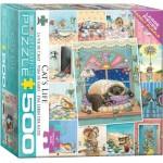 Puzzle  Eurographics-8500-5366 Pièces XXL - Vie de chat de Gary Patterson