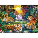 Puzzle  Eurographics-8500-5457 Pièces XXL - Tiger's Eden