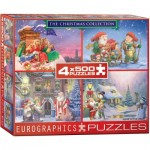 Eurographics-8904-0552 4 Puzzles - The Christmas Collection