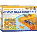 Eurographics-8955-0107 Smart-Puzzle 3-Pack Accessory Kit