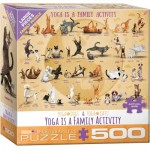 Puzzle   Pièces XXL - Yoga is A Family Activity
