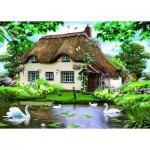 Puzzle  Jumbo-11014 Le Cottage aux Cygnes