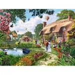 Puzzle  Jumbo-11029 Steve Crisp : A Beautiful Sunday Stroll