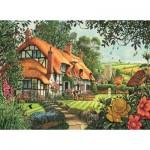 Puzzle  Jumbo-11113 Steve Crisp - Thatcher's Cottage