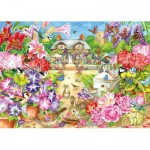 Puzzle  Jumbo-11171 Claire Comerford - Summer Garden