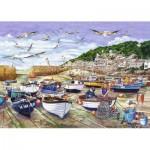 Puzzle  Jumbo-11186 Cornwall - Mousehole