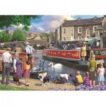 Puzzle  Jumbo-11206 Sunday on The Canal