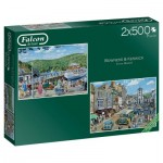 Jumbo-11238 2 Puzzles - Bowness and Keswick