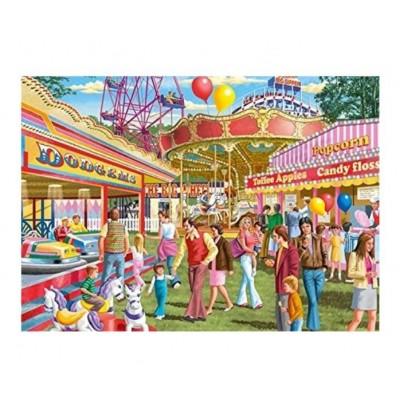 Puzzle Jumbo-11251 Pièces XXL - Fun at the Fair