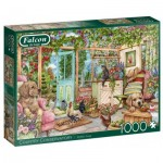Puzzle  Jumbo-11314 Country Conservatory