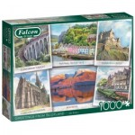 Puzzle  Jumbo-11325 Greetings from Scotland