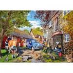 Puzzle  Jumbo-11333 The Blacksmith's Cottage