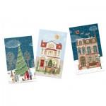 12 Puzzles 80 Pièces - Christmas Street
