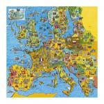 Puzzle  Gibsons-G1010 Carte de l'Europe
