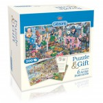 Gibsons-G2601 Puzzle Cottage et 6 Cartes par Mike Jupp