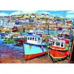 Puzzle  Gibsons-G3525 Pièces XXL - Mevagissey Harbour