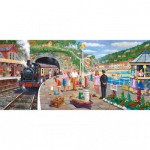 Puzzle  Gibsons-G4031 Derek Roberts: Seaside Train