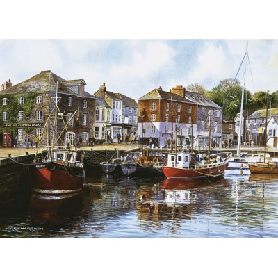 Puzzle Gibsons-G476 Padstow Harbour