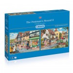 Gibsons-G5030 2 Puzzles - The Postman's Round 2