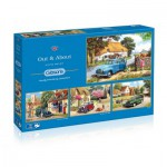 Gibsons-G5034 4 Puzzles - Kevin Walsh : Out and About