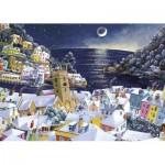 Puzzle  Gibsons-G6198 John Gillo - Christmas Moon