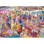 Puzzle  Gibsons-G6254 Tony Ryan - Village Tombola