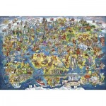 Puzzle  Gibsons-G8018 Wonderful World