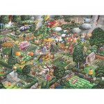 Puzzle  Gibsons-G811 J'aime jardiner