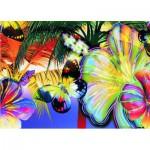 Puzzle  Gold-Puzzle-60041 Papillons