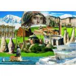 Puzzle  Gold-Puzzle-60256 Héritages Culturels de Turquie