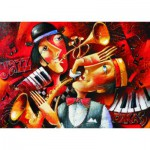 Puzzle  Gold-Puzzle-60546 Jazz en Duo