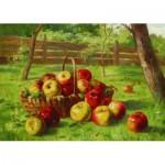 Puzzle  Gold-Puzzle-60768 Karl Vikas : La Récolte de Pommes