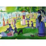 Puzzle  Gold-Puzzle-60799 Georges Seurat : Un Dimanche Après-midi à la Grande Jatte