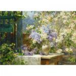 Puzzle  Gold-Puzzle-60805 Marie Egner : Floraison de la Tonnelle