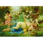 Puzzle  Gold-Puzzle-60874 Joseph Bernard: Venus et Cupidon