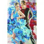 Puzzle  Gold-Puzzle-61024 Danse en Bleu