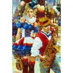Puzzle  Gold-Puzzle-61031 Cabaret